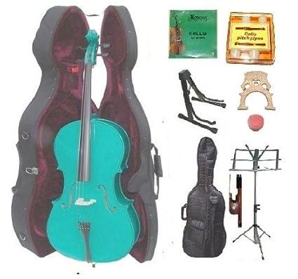 Amazon.com: Grace para violonchelo 1/4 tamaño verde con ...