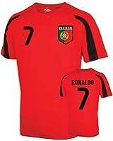 Portugal Sports Training Jersey (ronaldo 7) - Kids