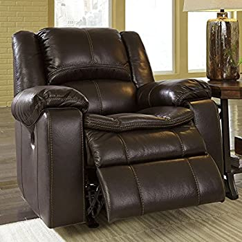 Signature Design by Ashley 8890598 Long Knight Collection Power Recliner Brown & Amazon.com: Ashley Furniture Signature Design - Matinee Recliner ... islam-shia.org