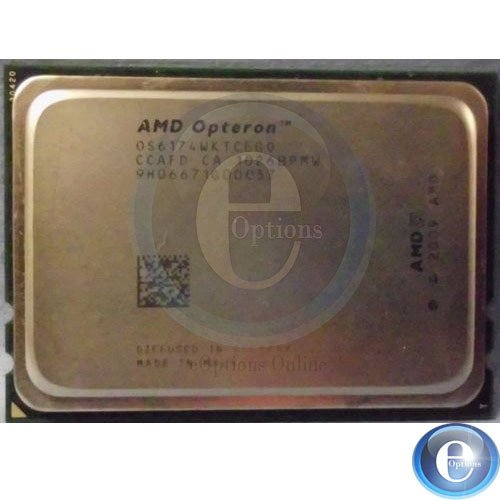 UPC 884962806562, OPTERON - 6174 - 2.2 GHZ - SOCKET G34 - L3 CACHE - 12 MB