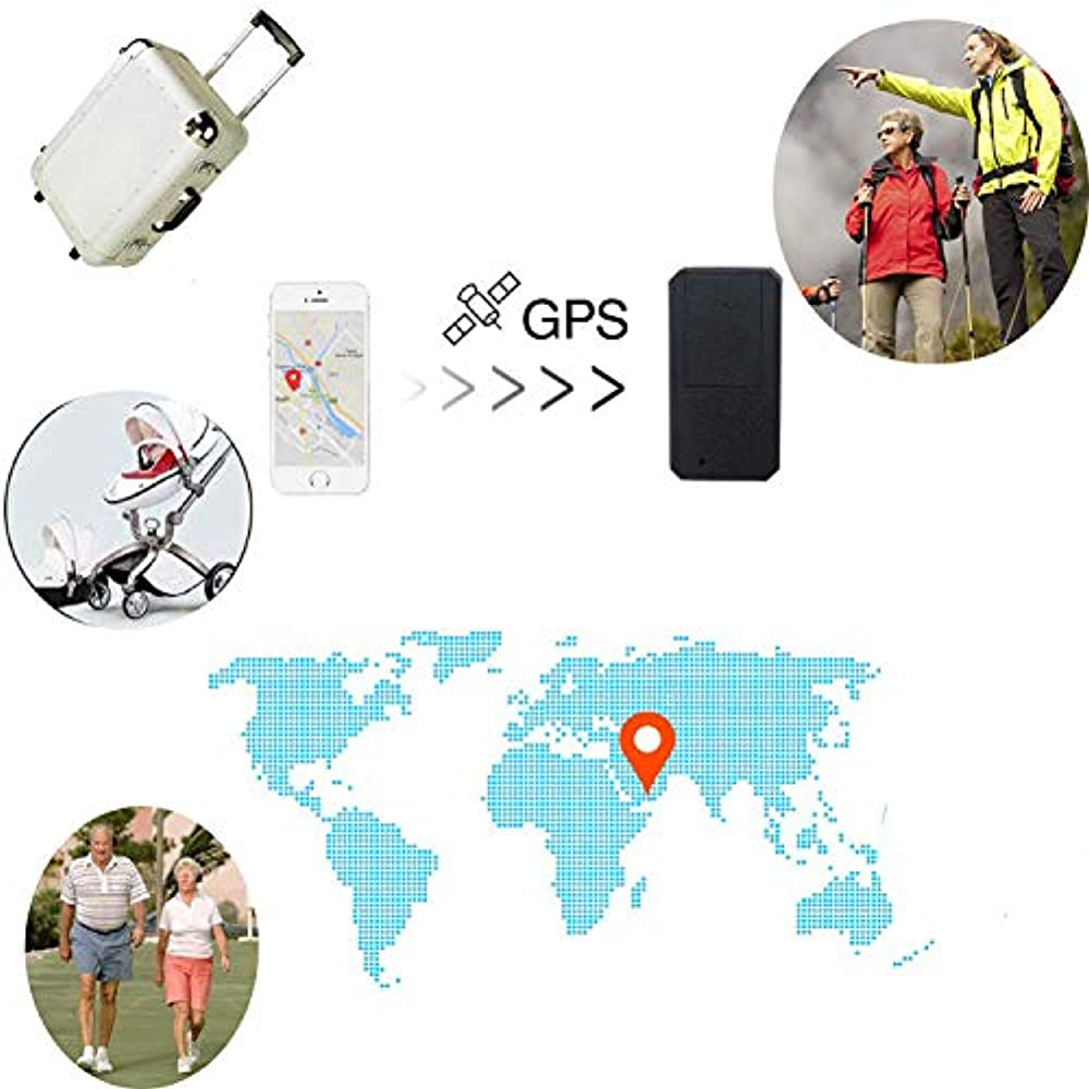 Mini GPS Tracker TKSTAR Anti-Theft Real Time Tracking on App Anti-Lost GPS Locator Tracking Device