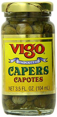Vigo Caper Capotes, 3.5 Ounce (Pack of 12)