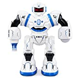 JJRC R3 Smart Combat Robot Toy RC Control Gesture Sensor Action Display Singing Dancing USB Charging Kids Christmas Birthday Gift Blue