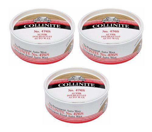 Collinite Super DoubleCoat Wax, 9 oz - 3 Pack by Collinite