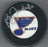 Autographed Bernie Federko St. Louis Blues Hockey