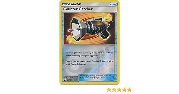 Crimson Invasion - NM 2017 Uncommon Pokemon Card Counter Catcher 91//111