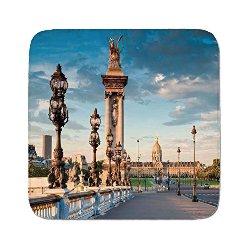 Cozy Seat Protector Pads Cushion Area Rug,Paris Decor,Pont for sale  Delivered anywhere in Canada