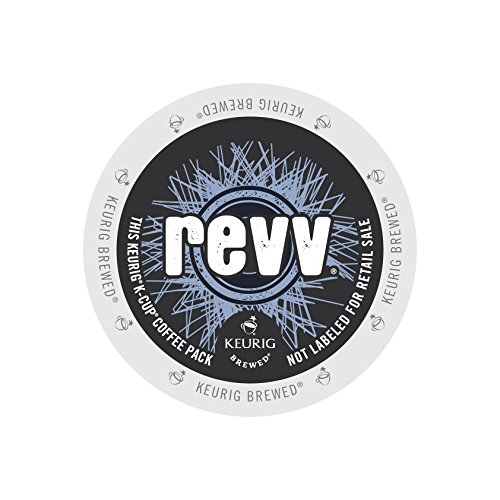 Roast Coffee Revv, K-Cup Portion Pack for Keurig Brewers 22-Count (Count Raw Linen)