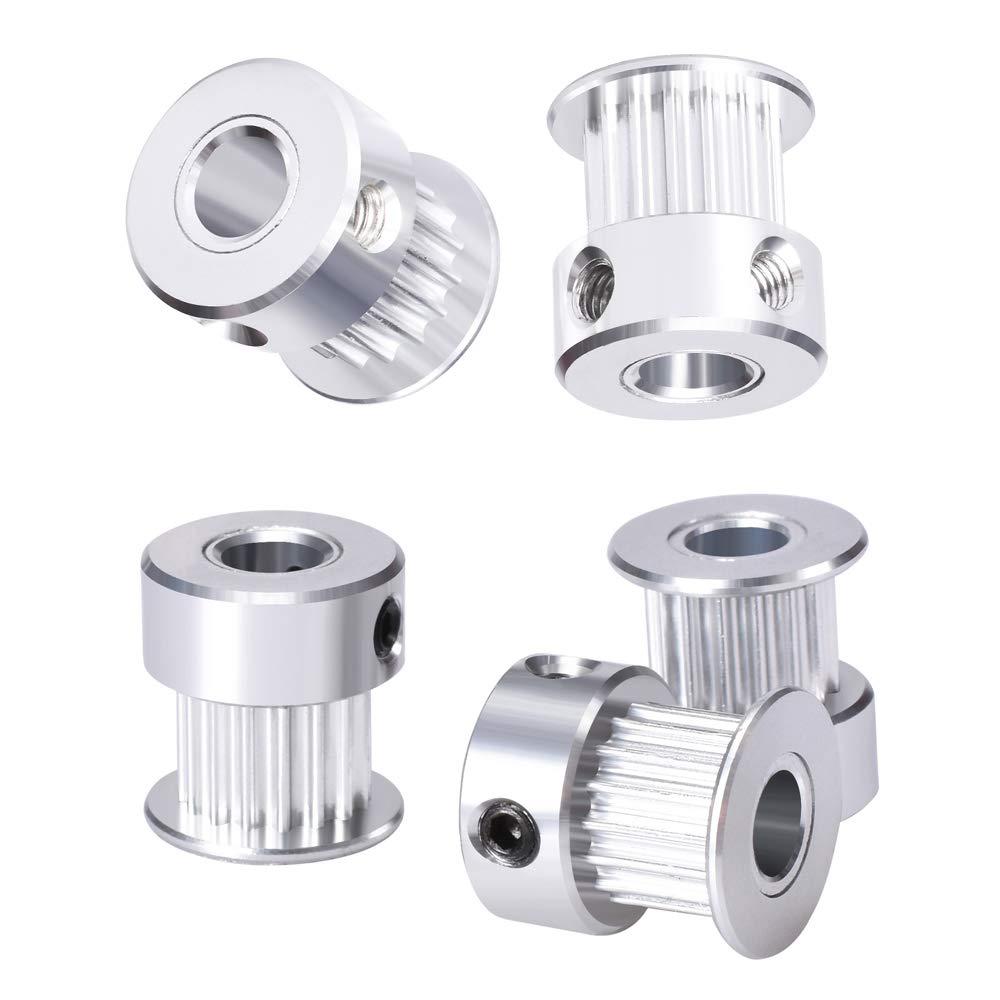 sooway aluminio GT2 dientes Polea para impresora 3d 6 mm ancho ...
