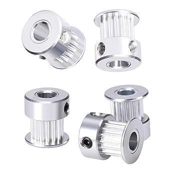 sooway aluminio GT2 dientes Polea para impresora 3d 6 mm ...