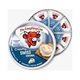 The Laughing Cow Original Cheese Wedge, 6 Ounce - 12 per case.