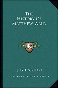 Book The History of Matthew Wald
