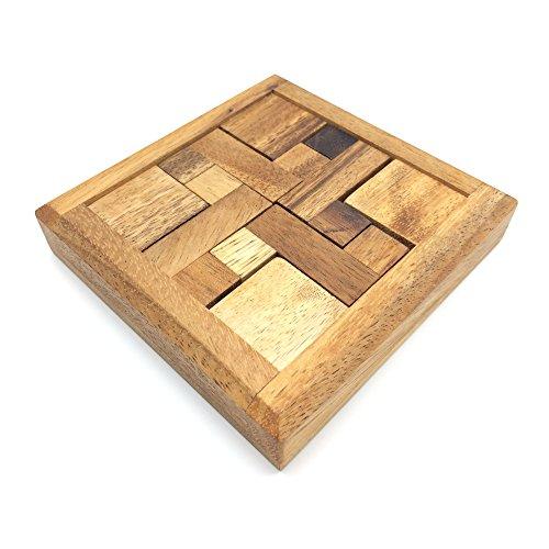 BRAIN GAMES 4Z Wooden Puzzle