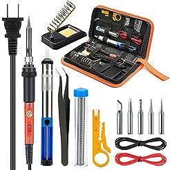 Soldering Iron Kit Electronics, Yome 14-...
