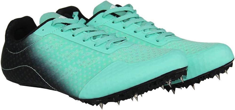SupFreedom - Zapatillas de Pista para Atletismo y Campo con Pinchos de Malla Transpirable para Correr y Correr, Verde (Verde), 43 EU: Amazon.es: Zapatos y complementos