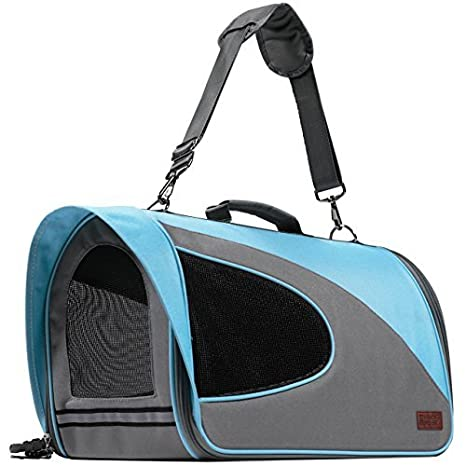 2e5287db6d Amazon.com : Airline Approved Pet Carrier for Cats, Small Dogs - Soft Cat  Carriers Dog Travel Bag for Small Medium Large Cat : Pet Supplies