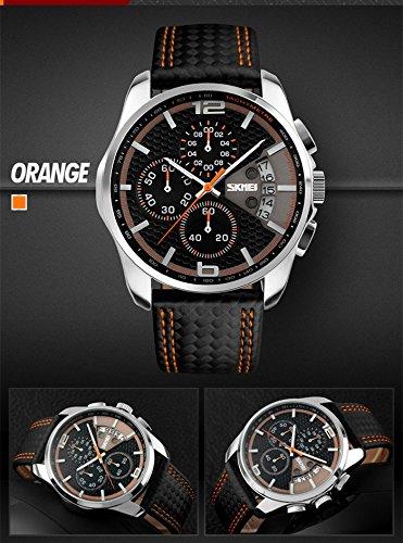 Amazon.com: Relojes de Hombre Sport LED Digital Military Water Resistant Men De Hombre Para Caballero (Orange) RE0035: Watches