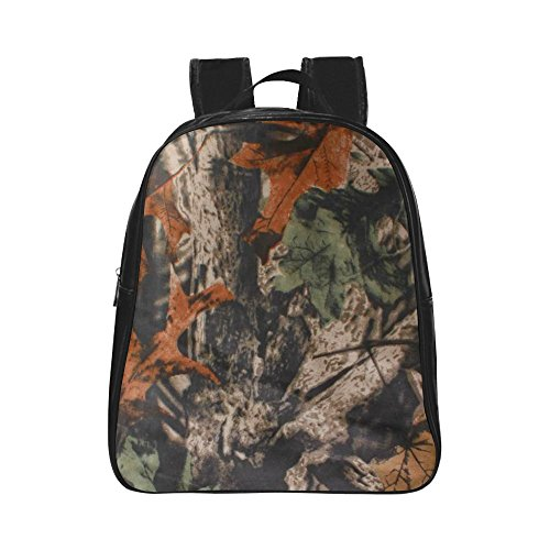 InterestPrint Forest Realtree Camouflag PU Leather Custom...