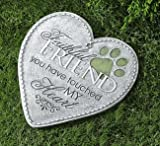 Gift Craft Polystone Pet Remembrance Stepping Stones (Heart) Review