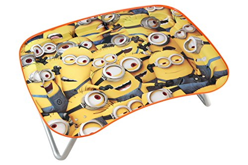 JayBeeCo Despicable Me Minions Children's Multipurpose Snack Activity - Tray Snack Toddler