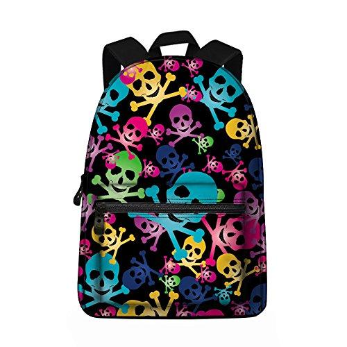Skull Backpack - Children's School Backpacks