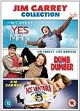Jim Carey Triple - Yes Man / Dumb And Dumber / Ace Ventura [DVD]