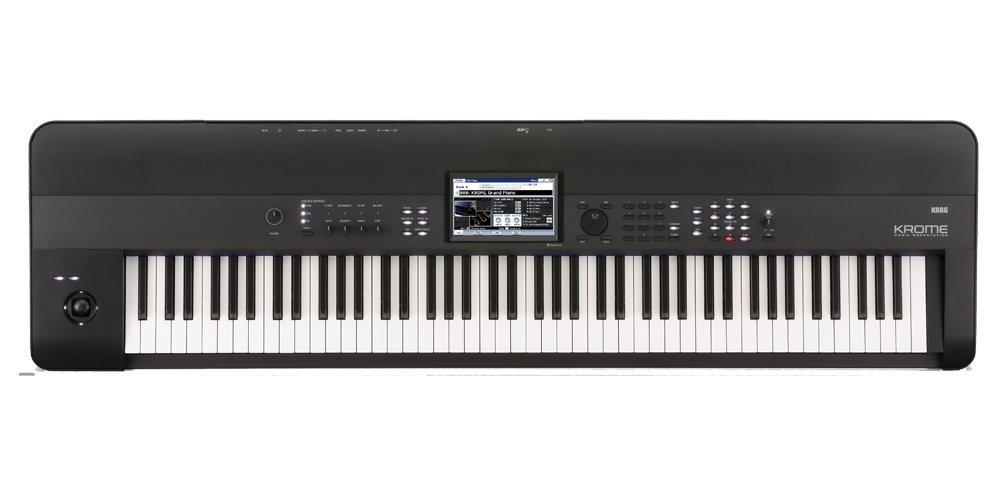 Korg KROME 88-Key Music Workstation Keyboard & Synthesizer by Korg