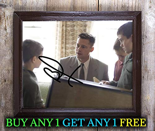 Tree Life Film Cast Autographed Signed 8x10 Photo Reprint #37 Special Unique Gifts Ideas Him Her Best Friends Birthday Christmas Xmas Valentines Anniversary Fathers Mothers Day