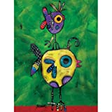 (US) Westland Giftware Jenny Foster Canvas Wall Art, 12-Inch by 16-Inch, Jack and Jill
