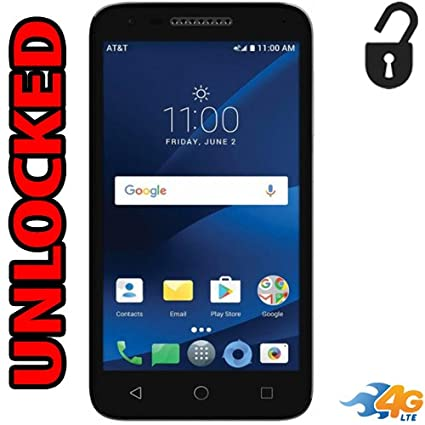 Alcatel CameoX 4G LTE Unlocked 5044R 5 inch 16GB Usa Latin & Caribbean  Bands Android 7 0