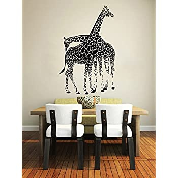 Amazon.com: Gotian - Adhesivo decorativo para pared, diseño ...