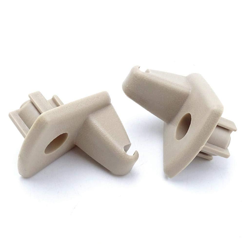 WXGY Support de Fixation pour Pare-Soleil de Voiture en Plastique Pop Up Durable Fixation /à Clip pour Voiture Chrysler 300C