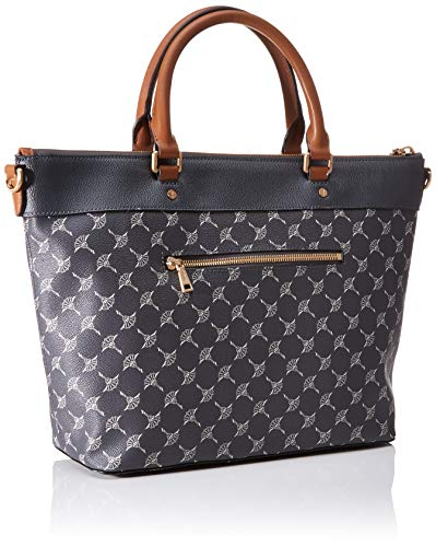 JOOP! Cortina Thoosa handväska Lhz kvinnors topphandtag väska, grå (mörkgrå), 27 x 13,5 x 41 cm (B x H x L)