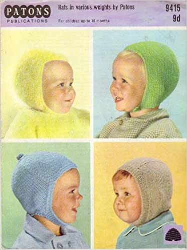 Patons Babys And Childrens Balaclava And Helmets Knitting Pattern