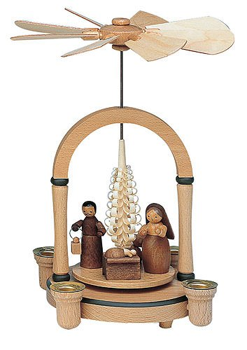1-tier Pyramid - Nativity - 23 cm / 8 inch - KWO