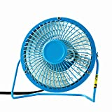 StrikeKing Mini Heater Household Small Size Heater Warm Electric Desktop Fan Heated Warmer For Winter Bedroom Office (Blue)