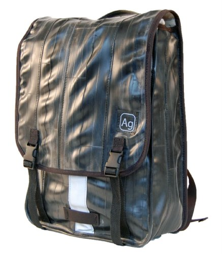 Alchemy Goods Madison Backpack, Made from Recycled Bike Tubes, Black by Alchemy Goods
