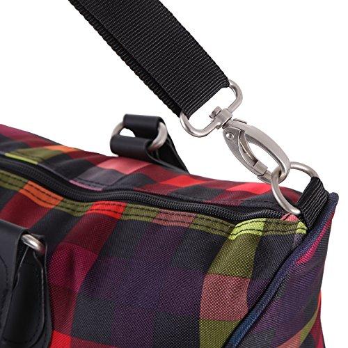 Rada Shopper Rainbow RT/7 Handtasche in verschiedenen Farben multicolor check