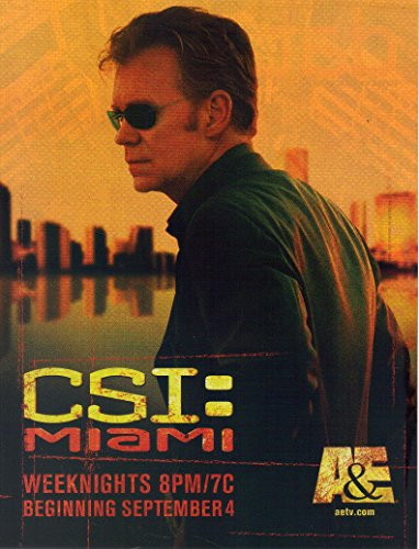 Print Ad: 2006 David Caruso For CSI: Miami,