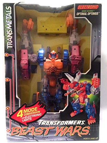TRANSFORMERS Transmetals BEAST WARS: Optimal Optimus by Kenner