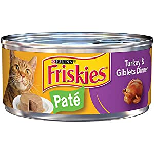 Purina friskies pate turkey giblets dinner for Friskies cat fishing
