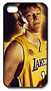 LZHCASE Personalized Protective Case For Iphone 4/4S CoverCoby Karl, NBA Los Angeles Lakers