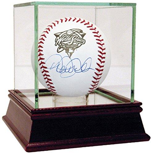2000 World Series Baseball (Derek Jeter Signed 2000 World Series Logo Baseball)