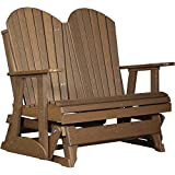 Cheap LuxCraft Recycled Plastic 4′ Adirondack Glider Chair