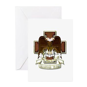 Amazon cafepress scottish rite greeting cards greeting cafepress scottish rite greeting cards greeting card note card birthday card m4hsunfo