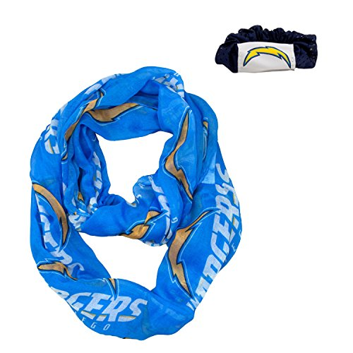 San Diego Chargers Headphones: Chargers Scrunchies, Los Angeles Chargers Scrunchie