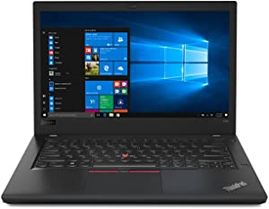 Lenovo 20L50010US ThinkPad T480 14-inch Laptop with Intel Core i7-8650U CPU, 16 GB RAM, 512 GB SSD, Windows 10 Pro
