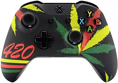 Xbox One Wireless Controller for Microsoft Xbox One - Custom Soft Touch Feel - Custom Xbox One Controller (420)