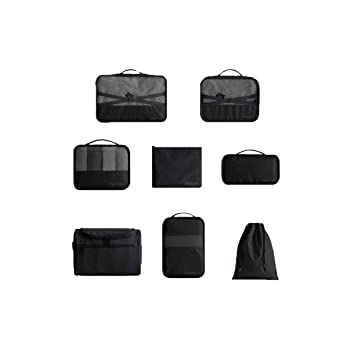 ab01e176b16d Amazon.com : Haoyushangmao Large Multi-function Travel Cosmetic Bag ...