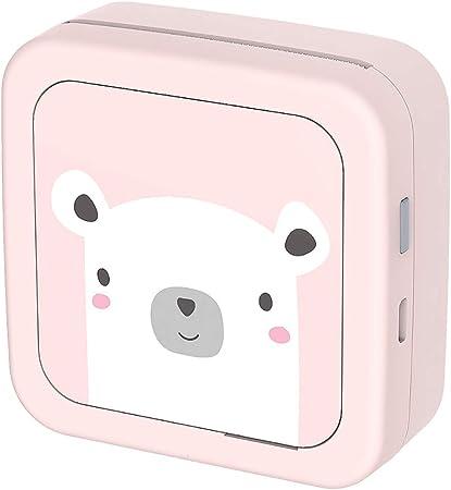 eiseyen – Impresora fotográfica portátil para smartphone Impresora térmica Impresión Sin tinta Bluetooth Color Rosa Blanco: Amazon.es: Hogar